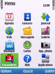 Nokia C5-00 - Messagerie vocale - configuration manuelle - Étape 4