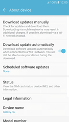 Samsung Galaxy S6 - Android M - Network - Installing software updates - Step 6