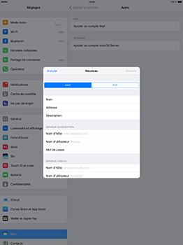 Apple iPad Pro 12.9 (1st gen) - iOS 10 - E-mail - Configuration manuelle - Étape 11