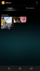 Sony Xpéria Z - Photos, vidéos, musique - Envoyer une photo via Bluetooth - Étape 4