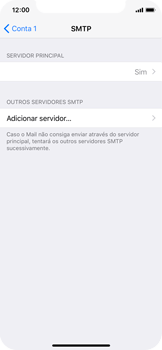 Apple iPhone X - Email - Configurar a conta de Email -  18