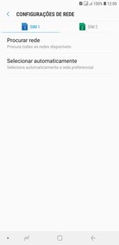 Samsung J4+ - Rede móvel - Como selecionar o tipo de rede adequada - Etapa 8