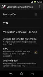 Sony Xperia L - Funciones básicas - Activar o desactivar el modo avión - Paso 5