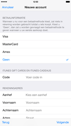 Apple iPhone 6 Plus - Applicaties - Account instellen - Stap 19