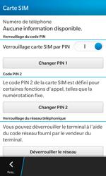 BlackBerry Z10 - Sécuriser votre mobile - Personnaliser le code PIN de votre carte SIM - Étape 6