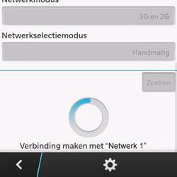 BlackBerry Q10 - Buitenland - Bellen, sms en internet - Stap 11