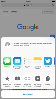 Apple Apple iPhone 6 Plus iOS 10 - Internet - Navigation sur Internet - Étape 5