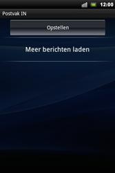 Sony Ericsson Xperia Mini Pro - E-mail - Handmatig instellen - Stap 5