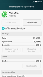 Huawei Y5 - Applications - Supprimer une application - Étape 5