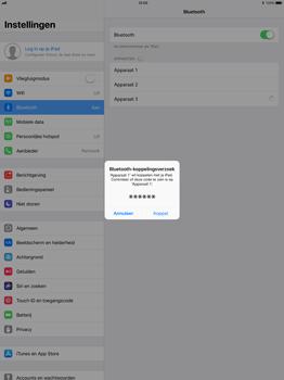 Apple Apple iPad Pro 12.9 - iOS 11 - WiFi en Bluetooth - Bluetooth koppelen - Stap 6