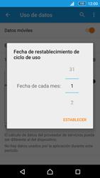 Sony Xperia M5 (E5603) - Internet - Ver uso de datos - Paso 7