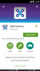 Huawei Ascend Y550 - Applications - MyProximus - Étape 7