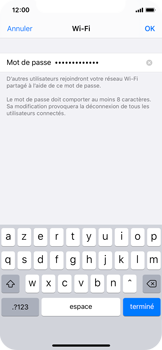 Apple iPhone X - iOS 13 - Internet - comment configurer un point d'accès mobile - Étape 5