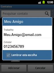 Samsung Galaxy Y - Mensagens - Como criar e enviar mensagens multimídia (MMS) - Etapa 7