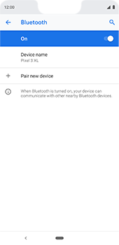 Google Pixel 3XL - Bluetooth - Pair with another device - Step 8
