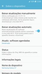 Samsung Galaxy S7 - Primeiros passos - Como encontrar o número de IMEI do seu aparelho - Etapa 5