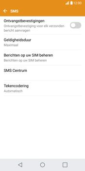 LG G6 (LG-H870) - SMS - Handmatig instellen - Stap 7