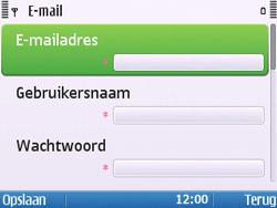 Nokia E5-00 - E-mail - handmatig instellen - Stap 14