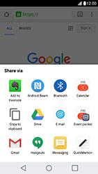 LG X Cam - Internet - Internet browsing - Step 20