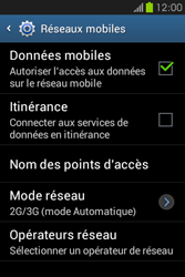 Samsung S6810P Galaxy Fame - Internet - configuration manuelle - Étape 7