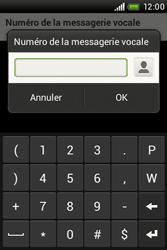 HTC A320e Desire C - Messagerie vocale - Configuration manuelle - Étape 7