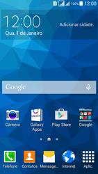 Samsung G530FZ Galaxy Grand Prime - Funções básicas - Como restaurar as configurações originais do seu aparelho - Etapa 1