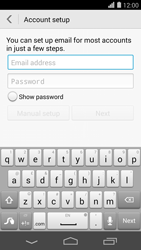 Huawei Ascend P7 - Email - Manual configuration - Step 6