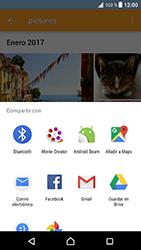 Sony Xperia XZ - Android Nougat - Bluetooth - Transferir archivos a través de Bluetooth - Paso 14
