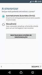 Sony Xperia XA (F3111) - Email - Adicionar conta de email -  13