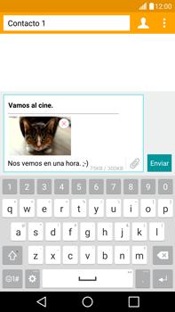 LG G4 - Mensajería - Escribir y enviar un mensaje multimedia - Paso 19