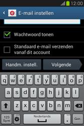 Samsung S6810P Galaxy Fame - E-mail - e-mail instellen: POP3 - Stap 6