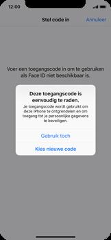 Apple iphone-x-met-ios-11-model-a1901 - Face ID en Animoji - Face ID inschakelen - Stap 10