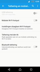 Sony Xperia Z5 Compact (E5823) - WiFi - Mobiele hotspot instellen - Stap 6