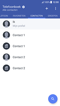 HTC U11 (2PZC100) - Contacten en data - Contacten kopiëren van toestel naar SIM - Stap 12