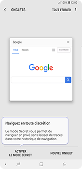 Samsung Galaxy Note9 - Internet - Navigation sur Internet - Étape 15