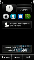 Nokia 500 - Voicemail - Manual configuration - Step 1