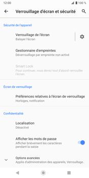 Sony Xperia XZ3 - Sécurité - modifier SIM PIN - Étape 5