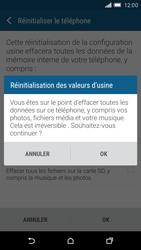 HTC One M9 - Aller plus loin - Restaurer les paramètres d'usines - Étape 7