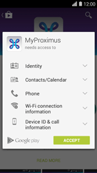 Huawei Ascend Y550 - Applications - MyProximus - Step 8