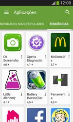 Samsung Galaxy Trend Plus - Aplicações - Como pesquisar e instalar aplicações -  12