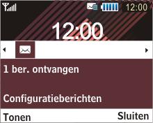 Samsung B3210 Corby TXT - MMS - automatisch instellen - Stap 3