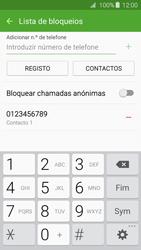 Samsung Galaxy A3 A310F 2016 - Chamadas - Como bloquear chamadas de um número -  11