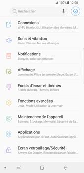 Samsung Galaxy S8 - Android Oreo - Réseau - utilisation à l'étranger - Étape 7
