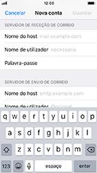 Apple iPhone 5s - iOS 12 - Email - Configurar a conta de Email -  13