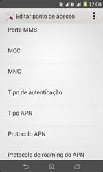 Sony D2105 Xperia E1 Dual - Internet (APN) - Como configurar a internet do seu aparelho (APN Nextel) - Etapa 13