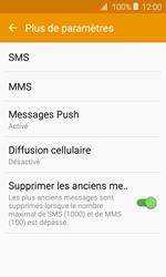 Samsung J120 Galaxy J1 (2016) - SMS - Configuration manuelle - Étape 7