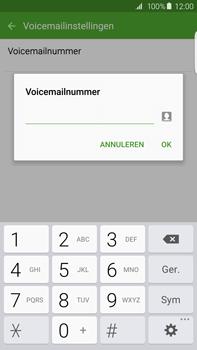 Samsung G928F Galaxy S6 edge+ - Voicemail - handmatig instellen - Stap 8