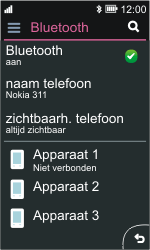 Nokia Asha 311 - Bluetooth - koppelen met ander apparaat - Stap 12
