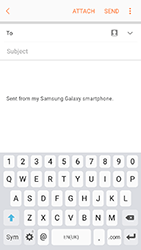 Samsung A320 Galaxy A3 (2017) - Email - Sending an email message - Step 6
