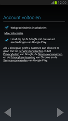Samsung N7100 Galaxy Note II - Applicaties - Account aanmaken - Stap 10